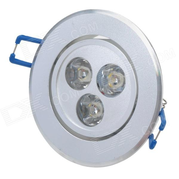 TOHDA THD-003N 3W 280lm 3500K 3-LED Warm White Ceiling Light (85~265V)