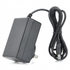 Universal AC Power Charger Adapter - Black (AU Plug / 100~240V / 5.5 x 2.1mm)