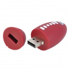 GLQ-16 Rugby forma USB 2.0 Flash Drive de disco - Marrón + Negro (32 GB)