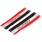 GUB XT-020 Sports Cycling Bicycle Sun Block UV Protection Oversleeves - Red + Black (Pair / Size XL)