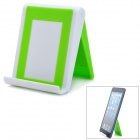 Stylish Foldable Plastic Stand Holder Support for iPad - Green + White