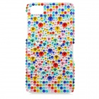 Protective Acryl Diamond Back Case for BlackBerry Z10 - Multicolor