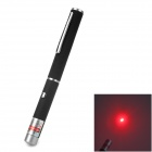200315 650nm 5mW Red Laser Pointer Pen - Black (2 x AAA)