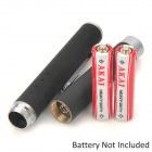 200315 650nm 5mW Red Laser Pointer Pen - Black (2*AAA)