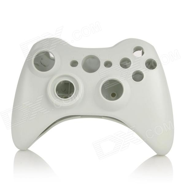 Replacement Housing Case Cover for XBOX360 Wired Controller - White зарядное устройство для xbox xbox360 x360 pc