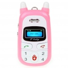 "i-Baby Mini 0.8"" LCD Screen Quadband GSM Children Cell Phone"