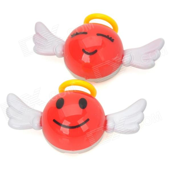 D13032207X Angel Infuse Visual Delight Aroma Car Air Freshener - Red (2 PCS) guano apes cologne