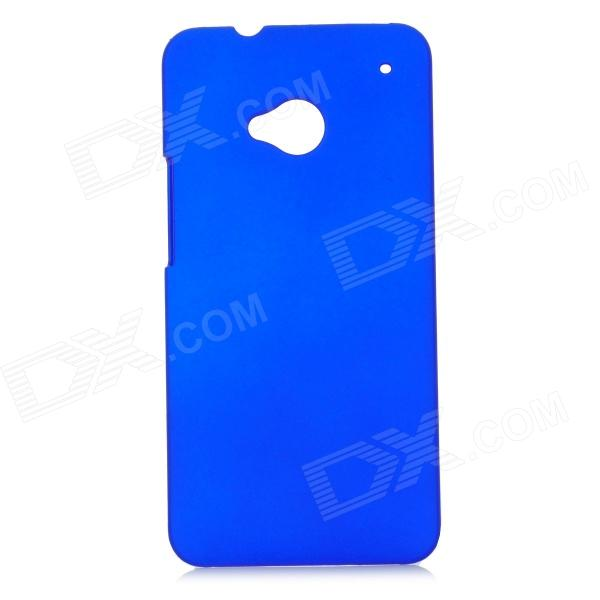 Protective Plastic Back Case for HTC One - Blue protective plastic back case for htc one mini m4 blue