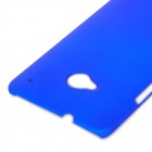 Protective Plastic Back Case for HTC One - Blue