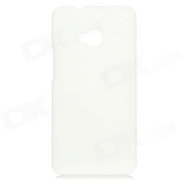 Protective Plastic Back Case for HTC One - White