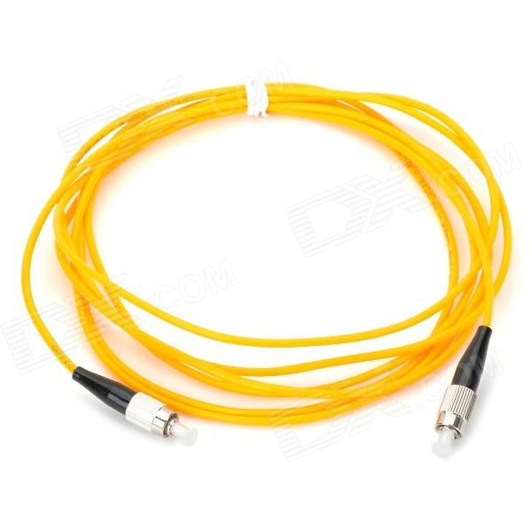 3.0mm FC-APC/FC-APC Singlemode Fiber Optic Patchcord (1-Meter) цена