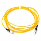 3.0mm FC-APC/FC-APC Singlemode Fiber Optic Patchcord (1-Meter)