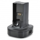 Charging Dock Station Charger for XBOX360 Wireless Joystick - Black (US Plug / 110~240V)