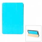 Fashionable Protective PU Leather Case for Ipad MINI - Blue