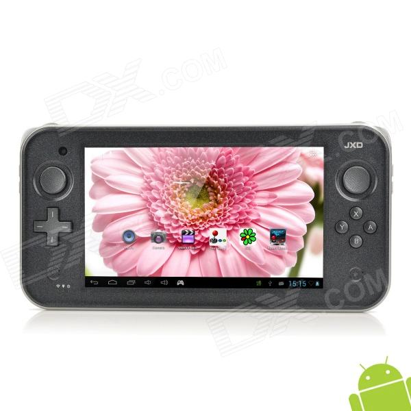 "JXD S7300 7"" Capacitive Screen Android 4.1 Game Console w/ TF / Wi-Fi / Camera / HDMI - Black"