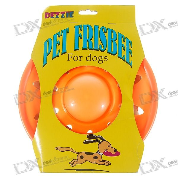 "Dezzie 8.5"" Pet Frisbee for Dogs (Non-toxic Material)"