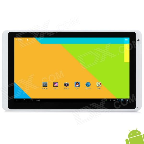 Ramos W27PRO 10.1 Capacitive Screen Android 4.1 Quad Core Tablet PC w/ TF / Wi-Fi / Camera - White