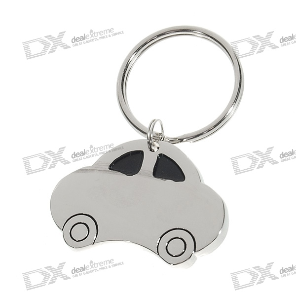 Stainless Steel Car Keychain