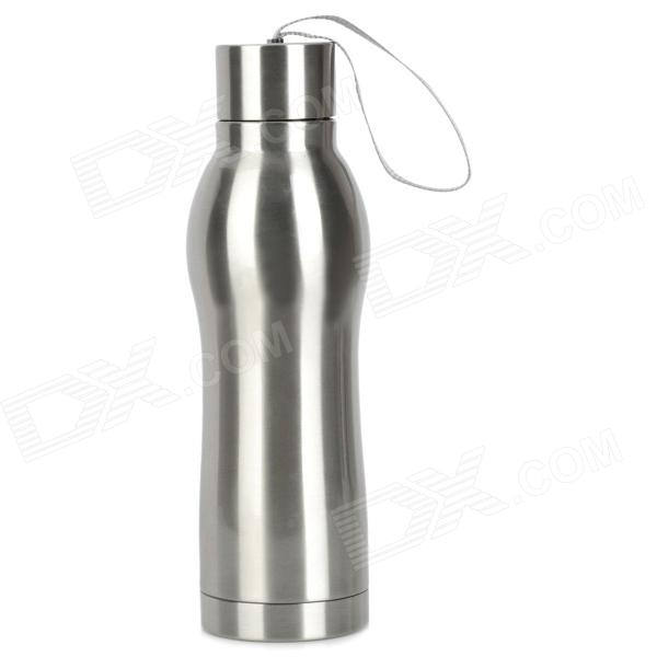 HengCan HC-151LH Outdoor Stainless Steel Water Bottle - Silver (430ML) blue motorcycle gearshift lever tips and brake lever tips for ktm exc excf xc xcf xcw xcfw mx egs sx sxf sxs smr enduro six days