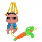 PSY Style Double-Shoulder Band Water Gun - Multicolored