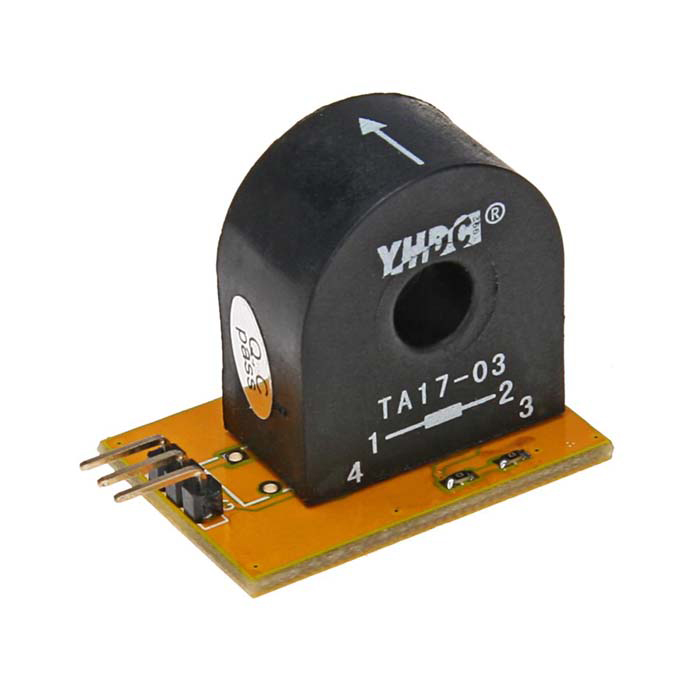 Meeeno MN-EB-CTA17 Electronic Building Block Current Sensor Module - Orange + Black