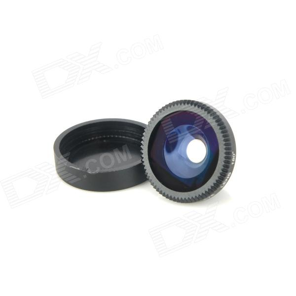 FE-12 Universal Fisheye Lens Attachment for Digital Cameras and Cell Phones - Black