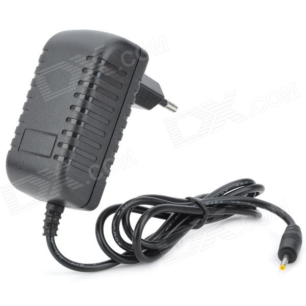 AC Power Charger Adapter for Ramos / Cube / AIGO / Onda - Black (EU Plug / 100~240V / 2.5 x 0.7mm) 12v 2a tablet eu plug power charger adapter for cube u9gt2 aigo e700 vido more black