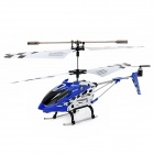 SYMA S107N Rechargeable 3-CH IR Remote Control R/C Helicopter w/ Gyro - Blue