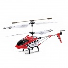 SYMA S107N Rechargeable 3-CH IR Remote Control R/C Helicopter w/ Gyro - Red