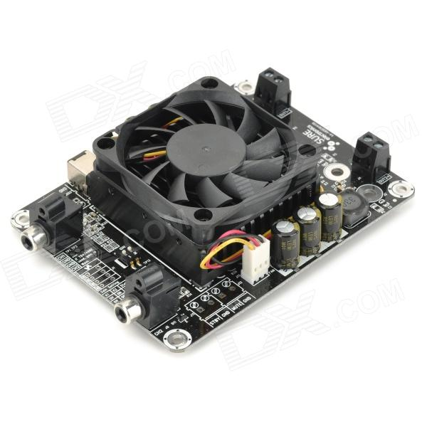 2 x 50W Class D TDA7492 Audio Amplifier Board - Black (DC 14~27V)
