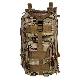 3P Tactical Outdoor Camping Hiking Double Shoulder Backpack Bag - CP Camouflage