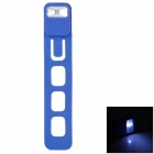 Folding Flexible Plastic Bookmark LED Light - Blue (3 x L1154)