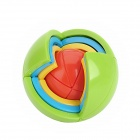 Colorful Plastic Puzzle Intelligent Ball