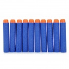 Soft Foam Bullets Whistle for Gun Pistol Toy - Orange + Blue (10PCS)