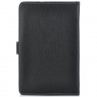 "Universal Magnetic Litchi Grain Protective PU Leather Case for 10.1"" Tablets - Black"