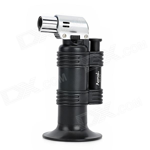 1300 Degree Welding Gun / Windproof Butane Jet Lighter - Black + Silver hp 2530 8