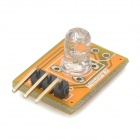 Meeeno MN-EB-LED5G elektronischer Baustein LED Green Light Module - Orange + Schwarz