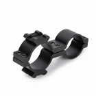 25/30 Gun Mount Holder Clip Clamp for Flashlight / Bicycle Light Lamp
