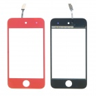 Replacement Electroplating Touch Glass Screen for iPod Touch 4 - Orange