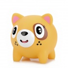 Cute Tiger Style Stress Reliving Squeeze Sound Toy - Yellow + Black + White