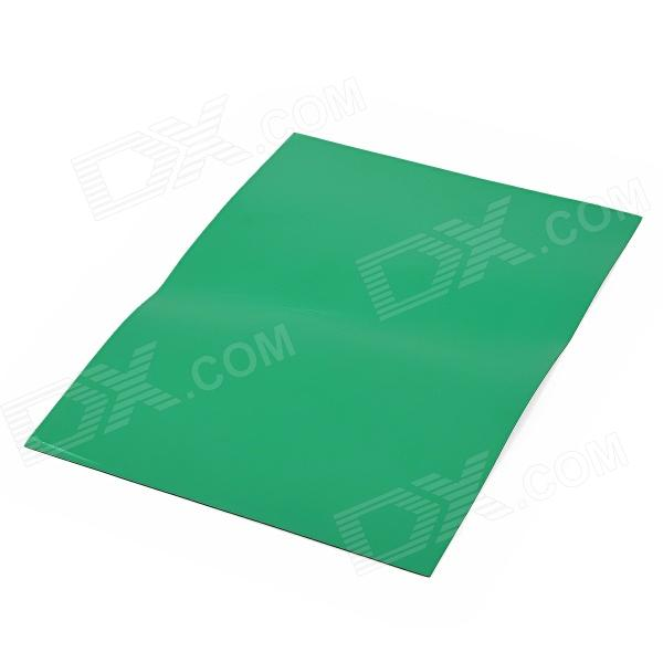 A4 Flexible Magnetic Sheet - Green + Black