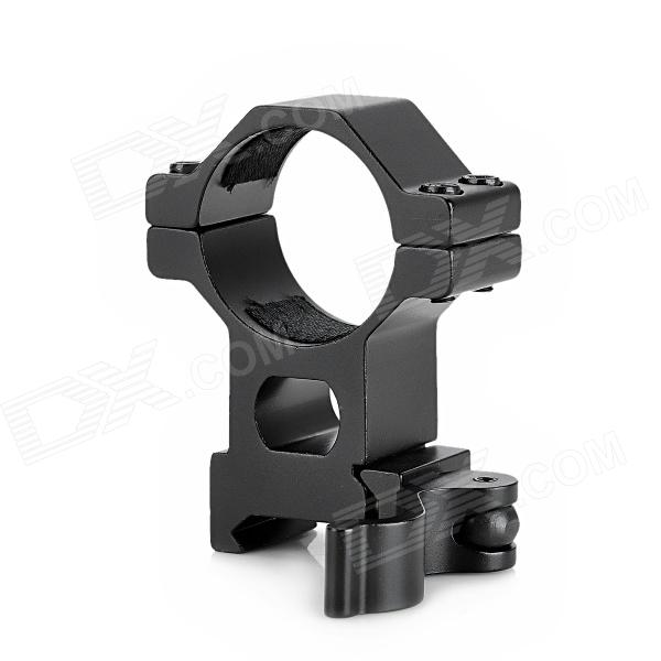 30mm Multifunction Aluminum Alloy Gun Rail Mount w/ 25.4mm Inner Ring / Hex Wrench