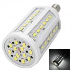 E14 15W 600lm 6500K 60-SMD 5630 LED White Light Lamp w/ E14 Female to E27 Male Adapter - White