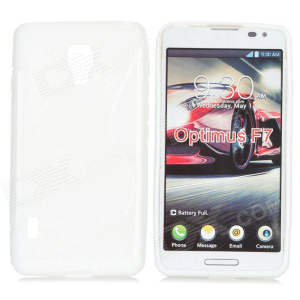 S Style Protective TPU Back Case for LG Optimus F7 - White lg mb65w95gih white свч печь с грилем