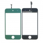 Replacement Electroplating Touch Glass Screen for iPod Touch 4 - Green