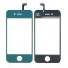 Replacement Electroplating Touch Glass Screen for iPhone 4 - Green