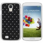 Protective Plastic Back Case for Samsung Galaxy S4 / i9500 - Black + Silver