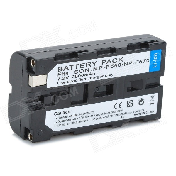 NP-F550 Camcorder Battery for Sony NP-F330 NP-F530 NP-F570 NP-F730 NP-F750 NP-F970 Hi-8 superior evolution 2873 32 2