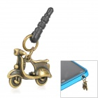 Motorcycle Style Anti-Dust Plug for 3.5mm Audio Jack - Bronze