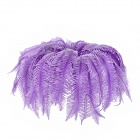 Artificial Rubber Aquarium Fish Tank Decoration Soft Coral - Purple